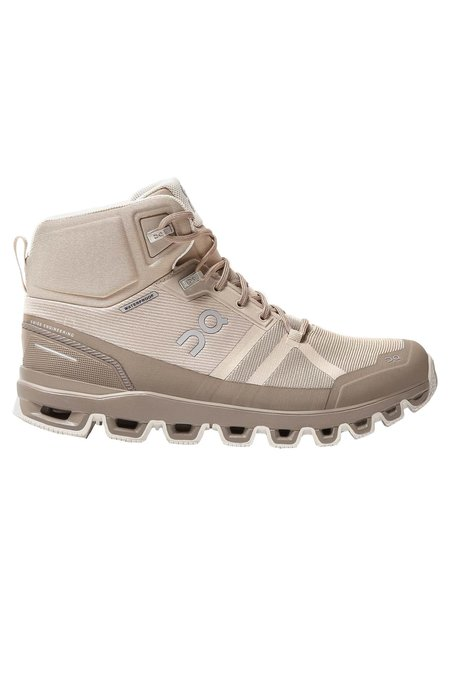 ON Running Women's Cloudrock Waterproof Shoes - Desert/Clay