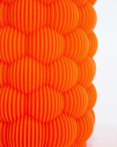 UAU Project 3D Print Vase 02 - Orange