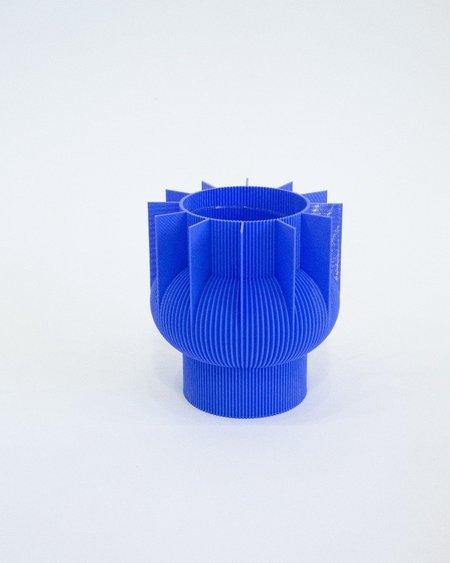 UAU Project 3D Print Vase 04 - Blue