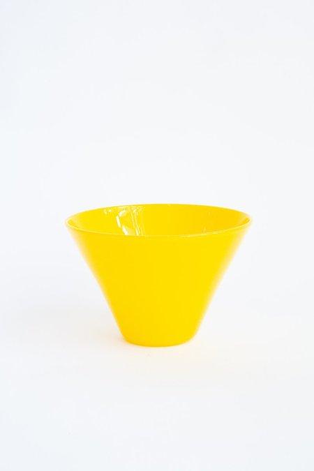 Cedric Mitchell Design Masai Glass Bowl - Canary