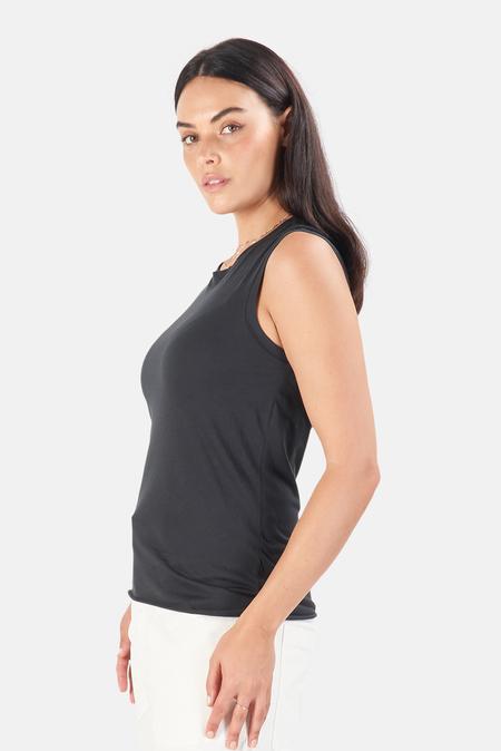 Nili Lotan Women's Muscle T-Shirt - Washed Black
