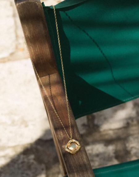 Simuero Amuleto Necklace - Gold