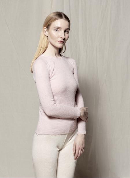 gudrun&gudrun Eco Wool Barba Pullover - Rose
