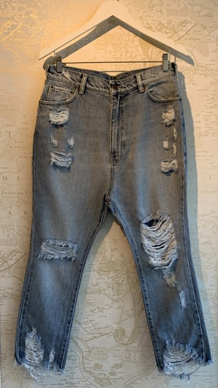 Ser.o.ya Omar Drop Boyfriend Jeans - Lakewood