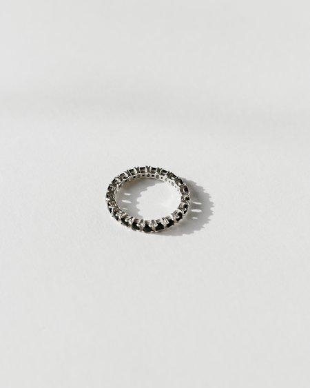 Jasmin Sparrow Wave Black Onyx Ring