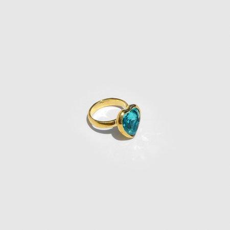 Mondo Mondo Lovely Ring - Aqua