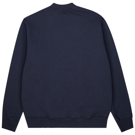 Samsoe Samsoe norsbro crew neck sweater - India Ink