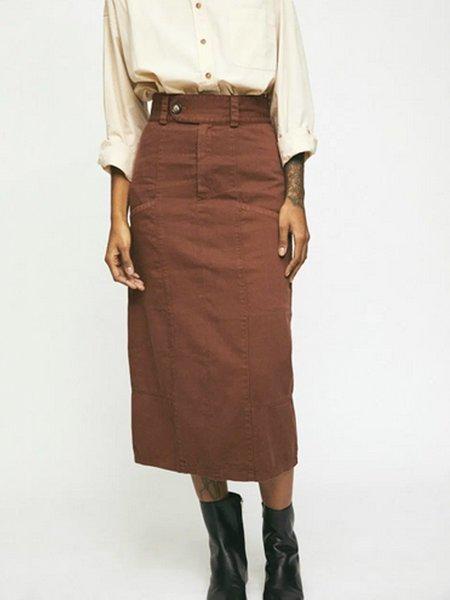 Rita Row Mango Skirt