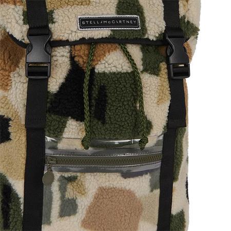 Kids Stella McCartney Child Teddy Backpack - Camo Print Green