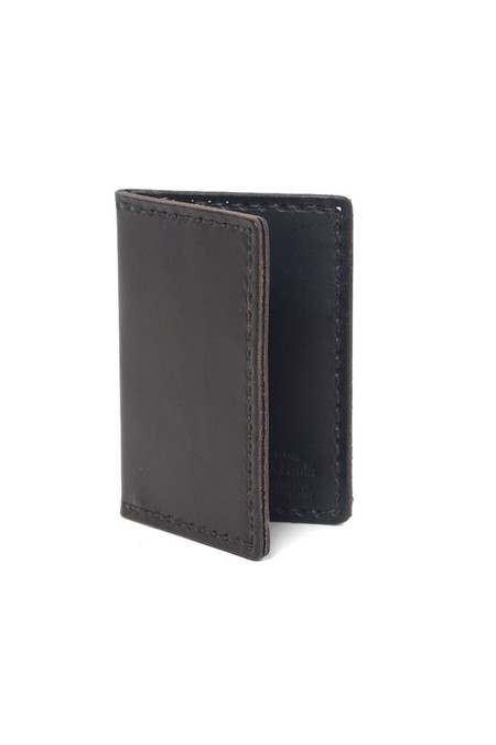 Wood&Faulk Front Pocket Wallet Black