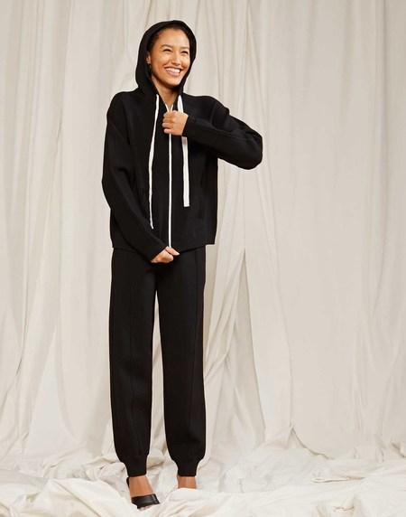 Cynthia Rowley Simone Knit Tracksuit Jacket