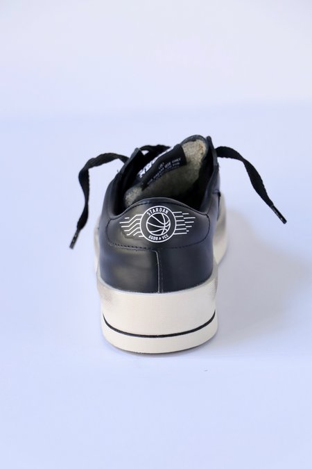 Golden Goose Stardan Sneakers - Black Leather