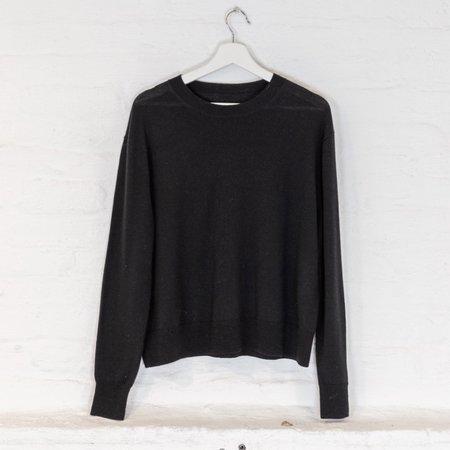 little high, little low NIRVANA sweater - soot