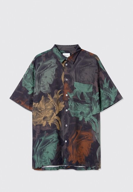 Wood Wood Thor Shirt - Tawny AOP