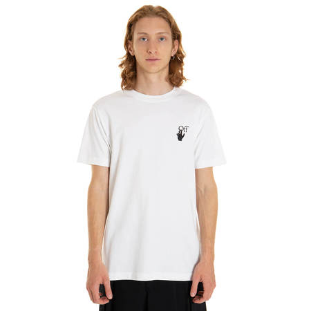 OFF-WHITE Degrade Arrow  t-shirt - white