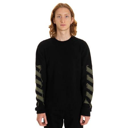 OFF-WHITE Reverse Arrow Diag sweater
