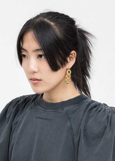 DEPARTMENT Chain Single Earring - Gold