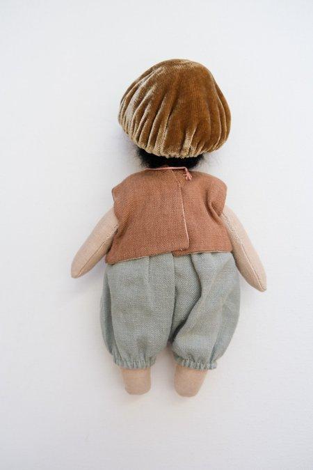 kids Lamb Ears and Roots Mushroom Doll - Fern