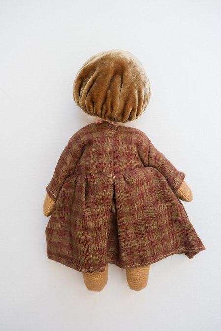 kids Lamb Ears and Roots Mushroom Doll - Violet