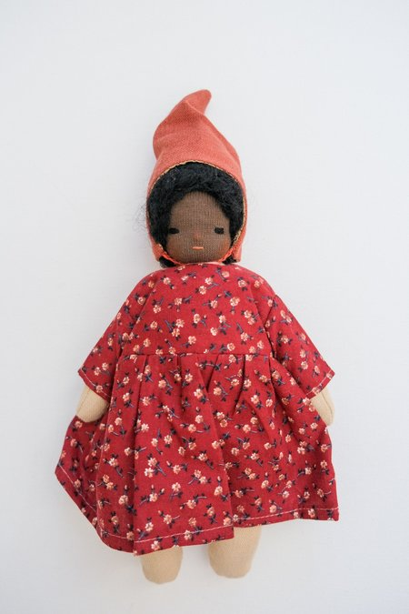 kids Lamb Ears and Roots Gnome Doll - Iris