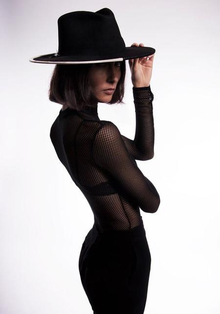 Sauvages Paul Brimmed Hat - black