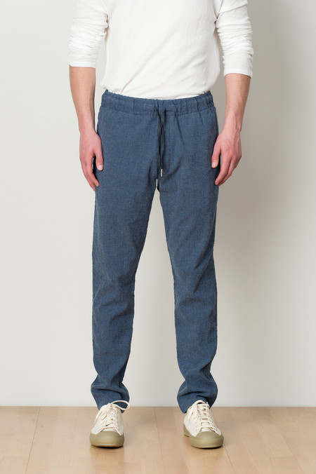 YMC Dot Skate Pant In Blue