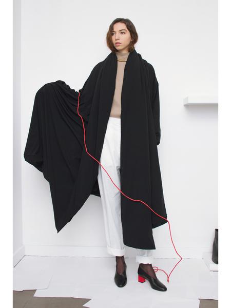 Suzanne Rae Aeropad Blanket Coat