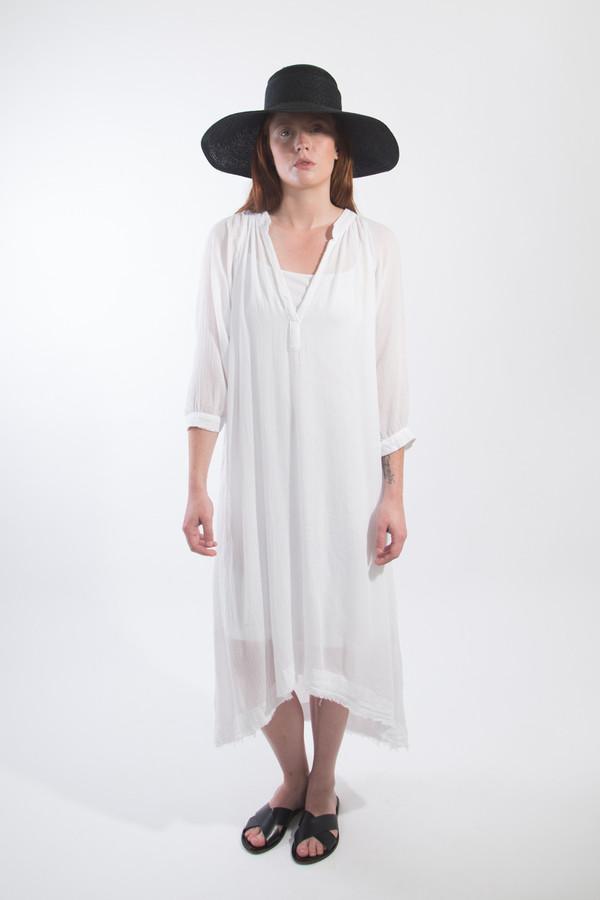 Black Crane 3/4 Sleeve Dress