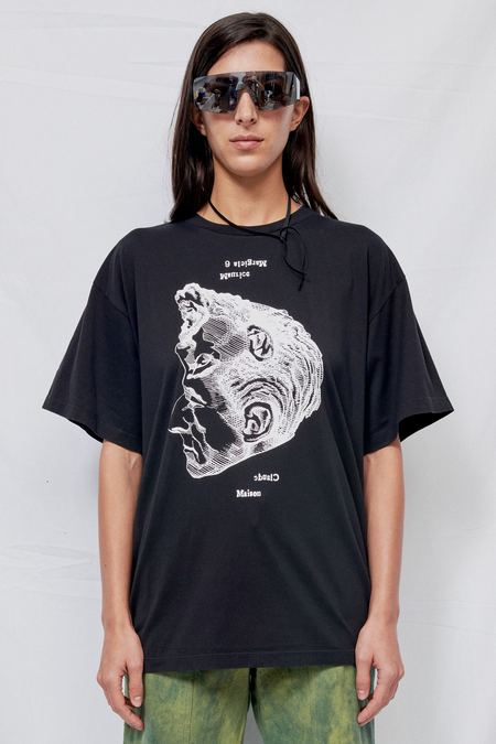 Maison Margiela Reverse Back Face T-Shirt - black