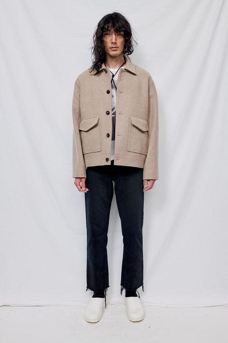 Blossom H Company Wool Caesar Jacket - Beige