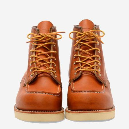 Red Wing Shoes Classic Moc 6-Inch Leather Boots - Oro Legacy
