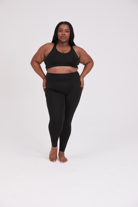Girlfriend Collective Float Seamless High Rise Leggings - Black