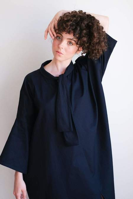Toit Volant Didi Dress - Navy