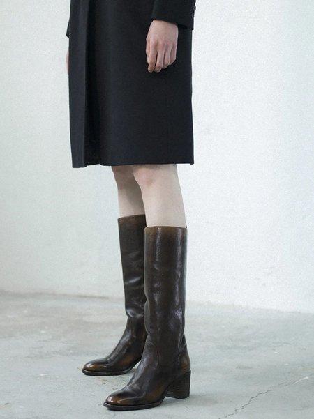 Officine Creative Sarah Tall Boot - Caffe T.Moro