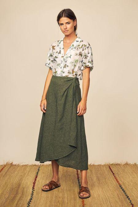 Diega Paris Jumpo Skirt - Green