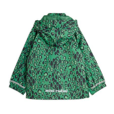 kids mini rodini edelweiss jacket - green