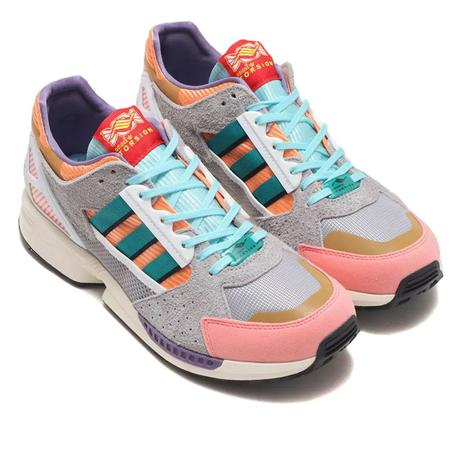 Adidas ZX 10/8 Candyverse SNEAKERS - Mesa/EQT Green/Core Black