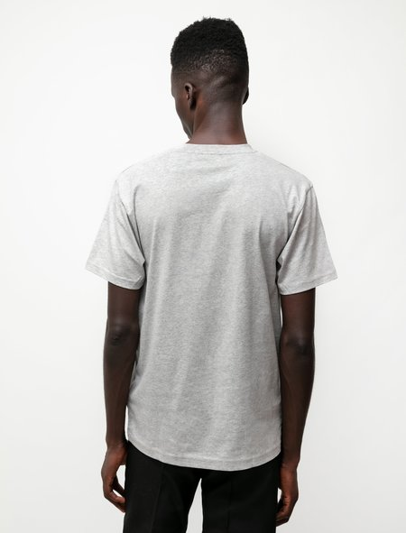 Sunspel Riviera Organic T-Shirt - Grey Melange
