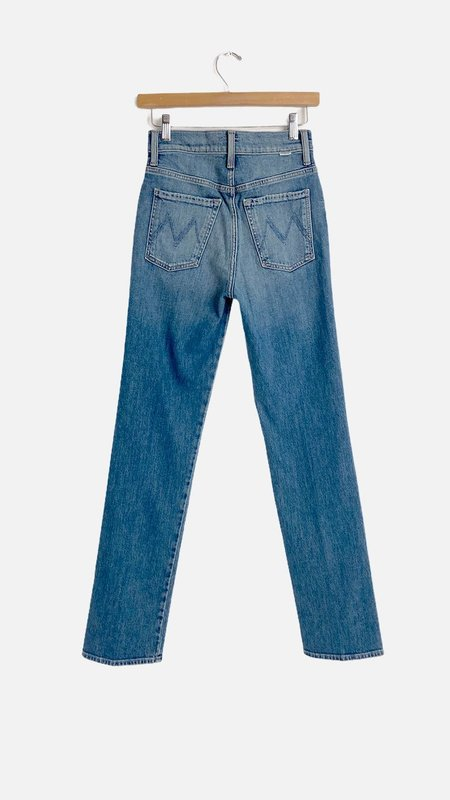 Mother Denim HW Double Hiker Skimp Jeans - Love Bombs