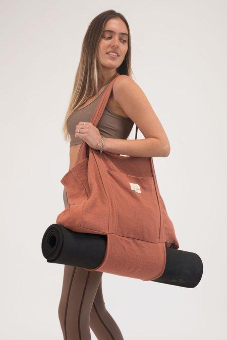 Sunshine Series Hemp Market Bag - pink