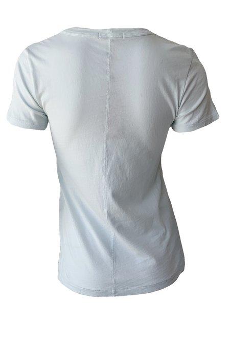 Rag & Bone Garment Dye Vee Tee - Mint