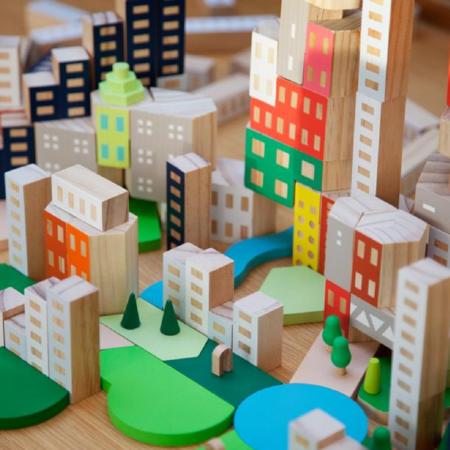 Kids Areaware Blockitecture - Big City