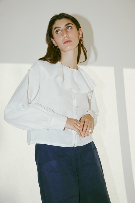 Muse the Label Phoebe Shirt - White
