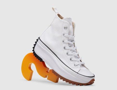 Converse Run Star Hike White / Black - Gum