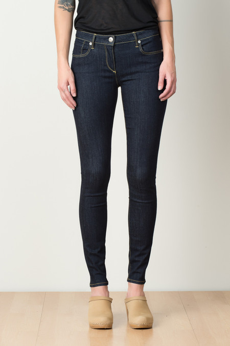 3x1 NYC Midrise Skinny In Smith