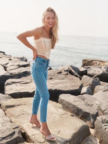 Levi's® Premium Wedgie Fit Ankle Jeans - Salsa These Dreams