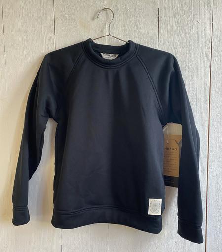 Conrado Fleeced Sweatshirt - Black