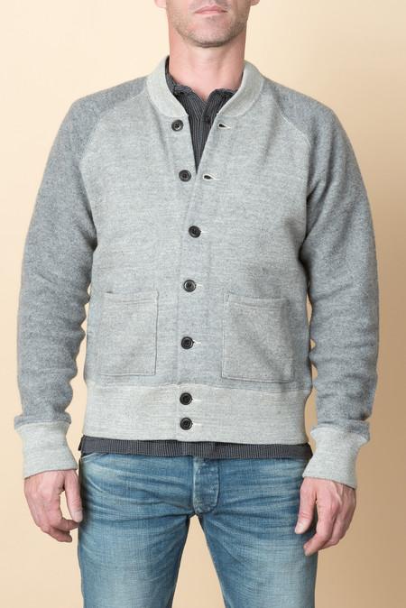 RRL Raglan Jacket In Grey Heather