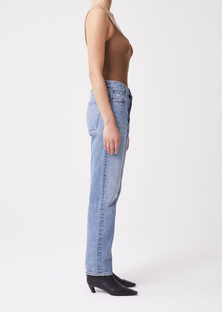 Agolde 90's Pinch Waist High Rise Straight Jeans - Endless