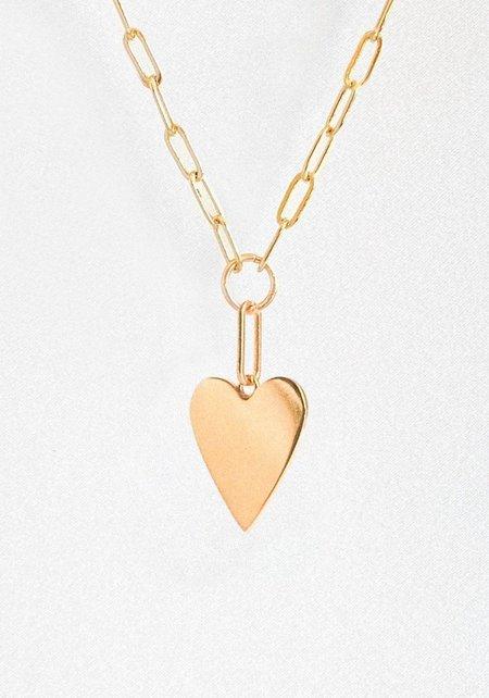 Thatch Amaya Heart Link Necklace